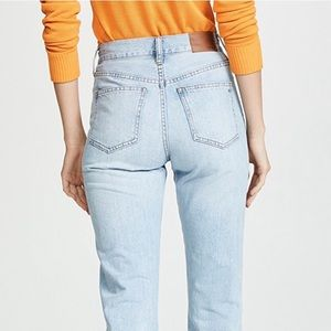 "Madewell ""The Perfect Summer Jean"" Distressed"